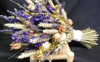 Сухие цветы как называются