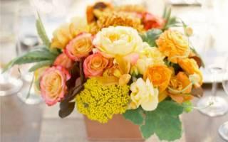 Какие цветы выбрать для букета к 1 сентября
