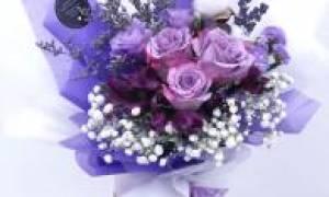Правда ли, что розы бывают фиолетовыми