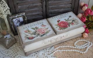 Розы из гофробумаги в стиле шебби шик